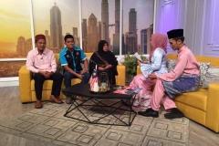 Wawancara di Selamat pagi Malaysia RTM  bersama zukiee, wakil simply qurban dan saudara kita dari kemboja